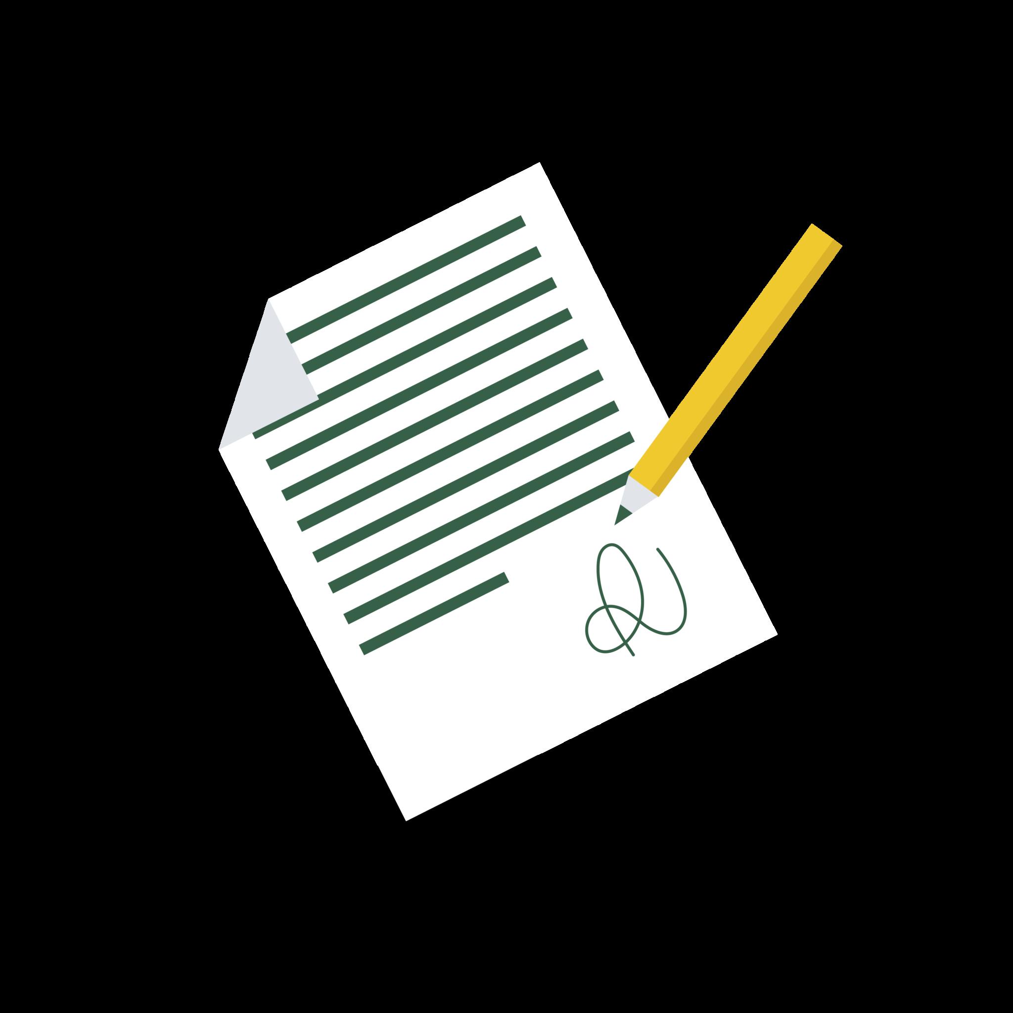 Contrat de remplacement prérempli et en ligne